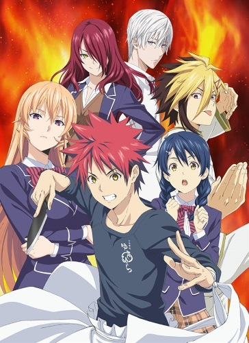 [TVRIP] Shokugeki no Souma: San no Sara [食戟のソーマ 餐ノ皿] 第01-07話 Alternative Titles English: Food Wars! The Third Plate Official Title 食戟のソーマ 餐ノ皿 Type TV Series, unknown number of episodes Year […]