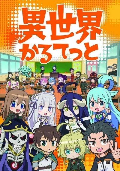 [TVRIP] Isekai Quartet [異世界かるてっと] 第01-12話 全 Alternative Titles English: Isekai Quartet Official Title 異世界かるてっと Type TV Series, 12 episodes Year 10.04.2019 till ? Tags short episodes The button appeared out […]