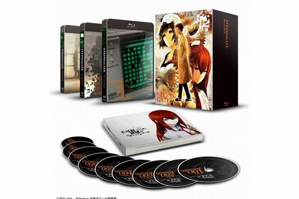 STEINS;GATE Blu-ray BOX 1