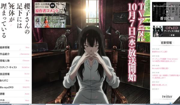 TVRIP Sakurako-san no Ashimoto ni wa Shitai ga Umatteiru