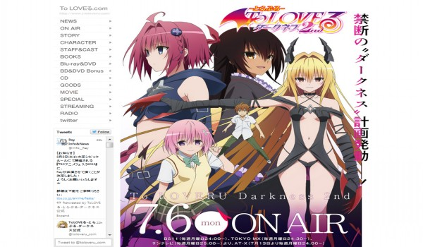 TVRIP To Love-Ru Trouble - Darkness 2nd